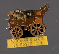 pin's la poste 1770 Paris Lyon N°3 (zamac signé thalassa)