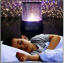 Kids Night Light Projector Lamp Calming Autism Sensory Visual Special Needs Toy