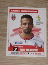 "Image Sticker #225 PANINI ""Filip MARKOVIC"" (Mouscron) Jupiler Pro League 2017"
