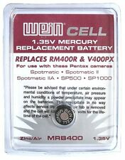 Wein Cell Mercury Replacement PX400 Battery 1.35V(Pentax Spotmatic SP500 SP1000)