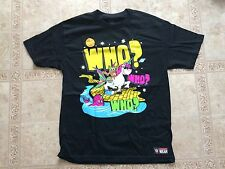 THE NEW DAY WWE AUTHENTIC WHO? T-Shirt LARGE Brand NEW