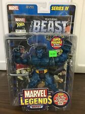 Marvel Legends Series IV Beast Figure & Comic Book New!