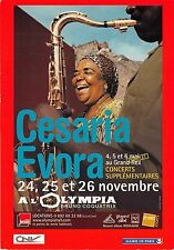 BF40367  cesaria evora alolympia bruno coquatrix   music opera singer