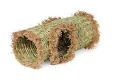 Toy Small Pet Grass Tunnel House Animal Guinea Pig Rabbit Ferret Nest Natural