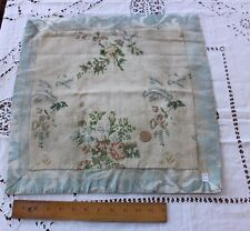 French Antique 18thC Brocaded Silk Table Mat