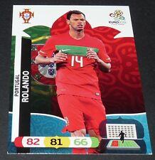 ROLANDO PORTUGAL FOOTBALL CARD PANINI UEFA EURO 2012