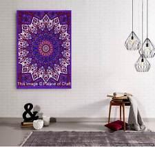 Indian Boho Star Mandala Small Tapestry Wall Hanging Table Cloth Yoga Mat Gypsy