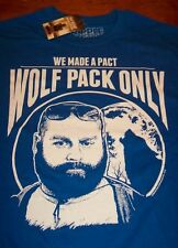 THE HANGOVER  Wolf Pack Only T-Shirt SMALL NEW w/ tag  ZACH GALIFIANAKIS