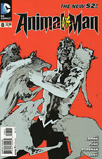 Animal Man #8 (NM) `12 Lemire/ Foreman/ Pugh