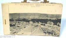 La Guerre 1914-18 Verdun Les Ruines Postcard Book WW1 The Ruins Postcards Paris