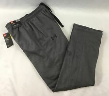 Under Armour MEN Storm ColdGear Athletic Pants Straight Leg Loose Grey Size M