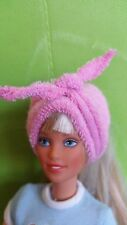 Only hearts club doll Pink head wrap fits Barbie, Bratz, Monster High, Etc.. NEW