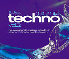 CD Minimal Techno volumen 2 de Various Artists 3CDs