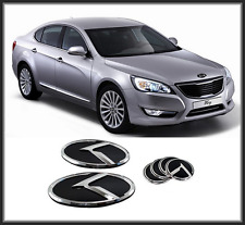 Front Hood /Trunk /Steering Horn K Logo Emblem 6p For KIA The New K7(2013~2015)