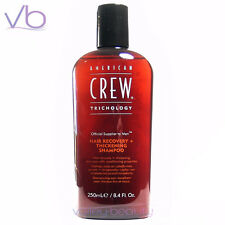 AMERICAN CREW Hair Recovery + Thickening Shampoo 250ml Anti Hair Loss Treatment
