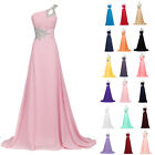 Hot Womens Summer Chiffon Bridesmaid Cocktail Evening Party Prom Long Maxi Dress