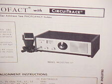 1975 TRUETONE CB RADIO SERVICE SHOP MANUAL MODEL MCC4370A-57 (DC4370)