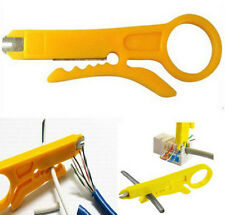 3x Punch Down Network Cable Connection Wire Cutter Cutting Stripper DIY Tool Kit