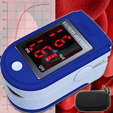 Pulsoxymeter Blood Values Heartbeat Oxygen Saturation Pulse Frequency ECG OM1