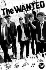 The Wanted : Black & White - Maxi Poster 61cm x 91.5cm (new & sealed)