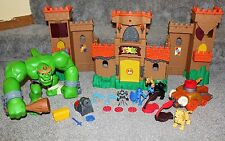 Imaginext Eagle Talon Castle Ogre Sounds Playset Set Lot Fisher Price Toys RARE