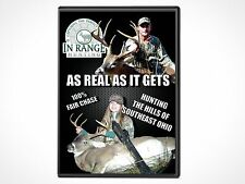 "In Range Hunting - ""As Real As It Gets"" Hunting in Ohio DVD  60min"