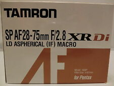 TAMRON SP AF 28-75mm F/2.8 XR Di LD Aspherical[IF]MACRO Model A09 for Pentax K