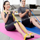 Resistance Band Body Tummy Workout GYM Abdominal Exercise Fitness Yoga Equipment