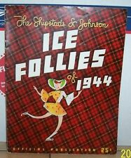 1944 Ice follies Official Program Ice skating