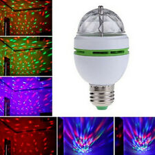 Colorful Auto Rotating RGB LED Bulb Party Lamp Disco for home decoration lamps