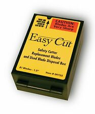 Easy Cut Safety Box Cutter Knife REPLACEMENT BLADES 81 EA/BX Easycut BEST PRICE