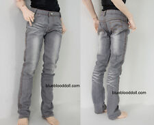 1/3 BJD Iplehouse EID hero Soom ID72 male doll size wash grey jeans #M3-80HE