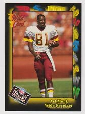 1991 Wild Card NFL Experience Redemption #126E Art Monk