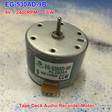 Audio Motor for Tape Deck Recorder EG-530AD-9B DC9V CCW Capstan Motor Audiomotor