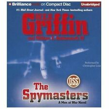 THE SPYMASTERS (A Man At War Novel) unabridged audio CD by W.E.B. GRIFFIN