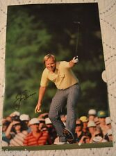 "Jack Nicklaus Signed 12x18 Photo (Poster Size) w ""Full Letter"" JSA COA #X93888"