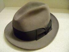 Vintage 1950s ??? DOBBS Fedora Hat~~7-1/8~~FREE SHIPPING!!!!