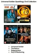UNIVERSAL SOLDIER QUADRILOGY DVD PART 1 2 3 4 Movie Film Brand New Sealed UK Rel