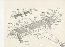 Vickers Vanguard 1960's historic manual collectible archive airframe VERY RARE
