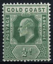 Gold Coast 1907-13 SG#59, 1/2d Dull Green KEVII MH #D37792