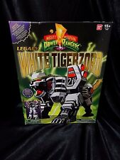 Bandai Power Rangers Legacy White Tigerzord New Sealed US Seller Tommy FAST SHIP