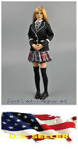❶❶1/6 ZY Women Clothes Girl School Uniform set Kumik Phicen Hot Toys USA❶❶