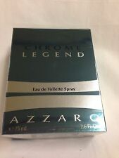 CHROME LEGEND By AZZARO for Men Cologne Spray 2.6 OZ / 75 ml NEW IN BOX SALE!!