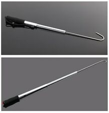 3FT Floating Aluminum Heavy Duty Gaff Stainless Steel Hook Big Fish Fishing