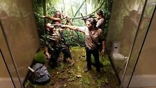 "Jungle Floor background Diorama for 6"" 10"" 12"" Action Figure IKEA Detolf hot toy"