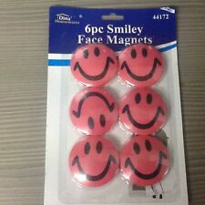 6pc Smiley faze magnets