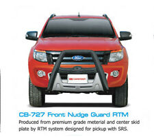 FRONT GRILLE NUDGE GUARD BUMPER FOR FORD RANGER T6 UTE XLT WILDTRAK 2012-15 4WD