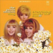 Rare Sealed CD Paris Sisters 1967 LP On CD Sing Everything Under The Sun OOP