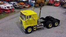 1/64 YELLOW 30039 TOP SHELF REPLICAS TSR MACK F 700 CABOVER SEMI CAB TRUCK DCP