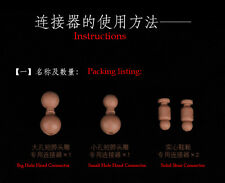 "1:6 Scale Short Neck/Foot Conector Fit for 12"" Figure Model Body Toy"
